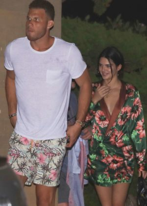 Kendall Jenner and Blake Griffin - Seen on a dinner at Nobu