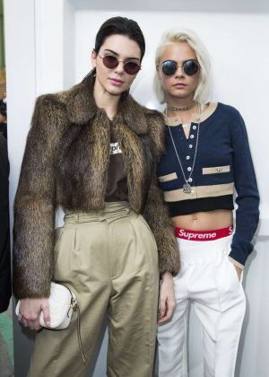 Kendall Jenner and Cara Delevingne - Chanel Show at 2017 PFW in Paris