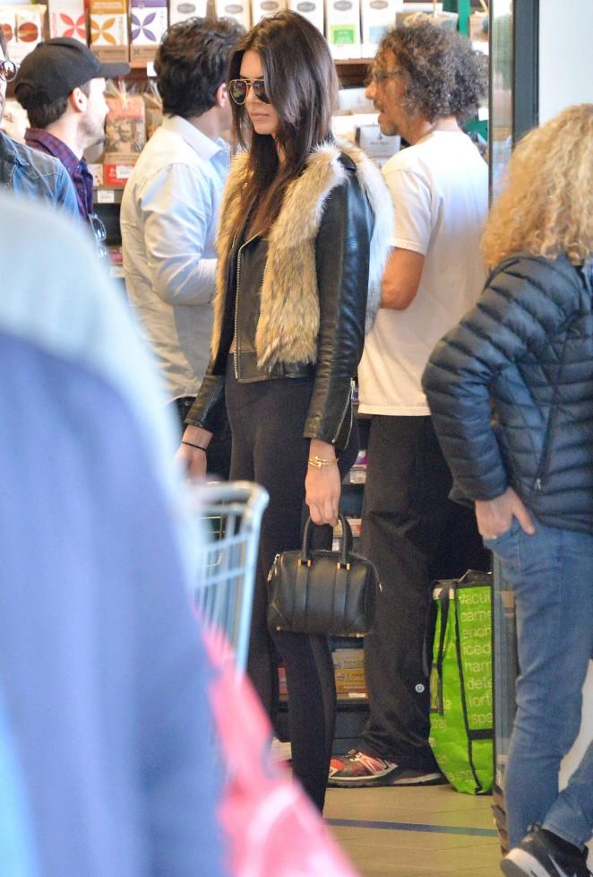 Kendall Jenner in Leggings -69