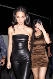 Kendall Jenner and Kylie Jenner - night out at The Nice Guy in West Hollywood