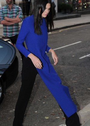 Kendall Jenner - Arrive at Cadogan Hall in London