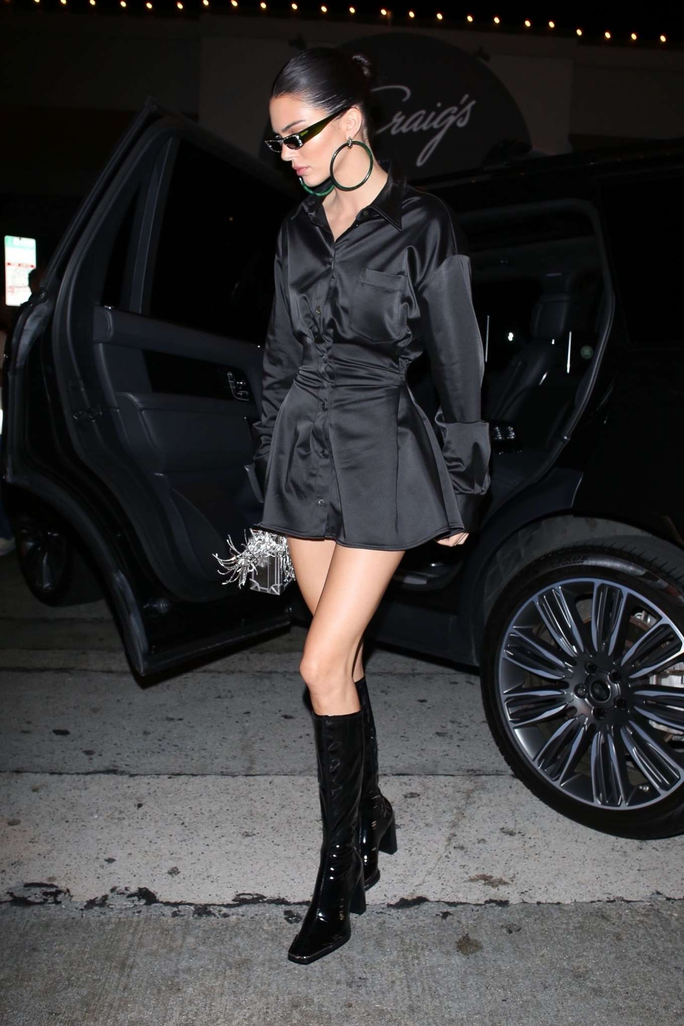 Kendall Jenner - Arrives at Craig's for Larsa Pippen's Birthday in West Hollywood