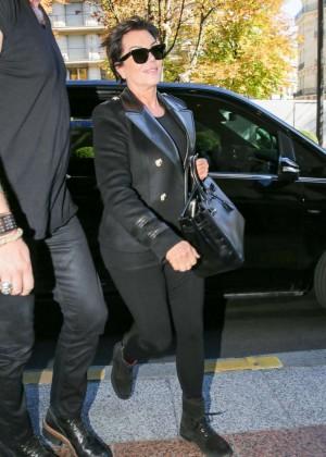 Kendall Jenner: Arrives at George V Hotel -03