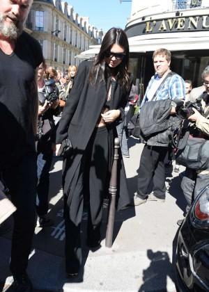 Kendall Jenner: Arrives at George V Hotel -04