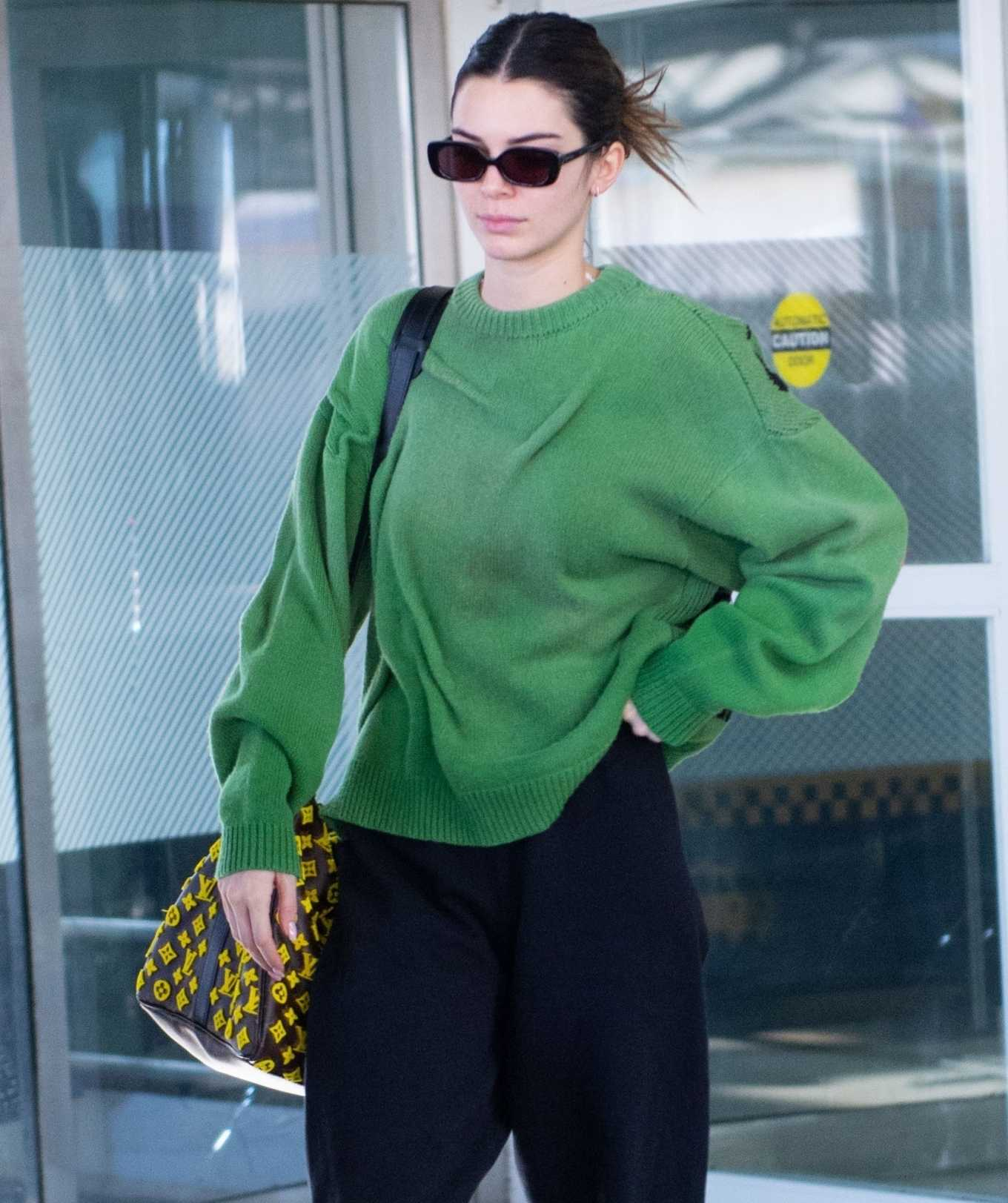 Kendall Jenner - Arrives at JFK airport in New York