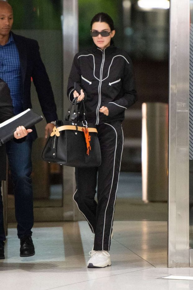Kendall Jenner - Arrives at JFK Airport in NYC