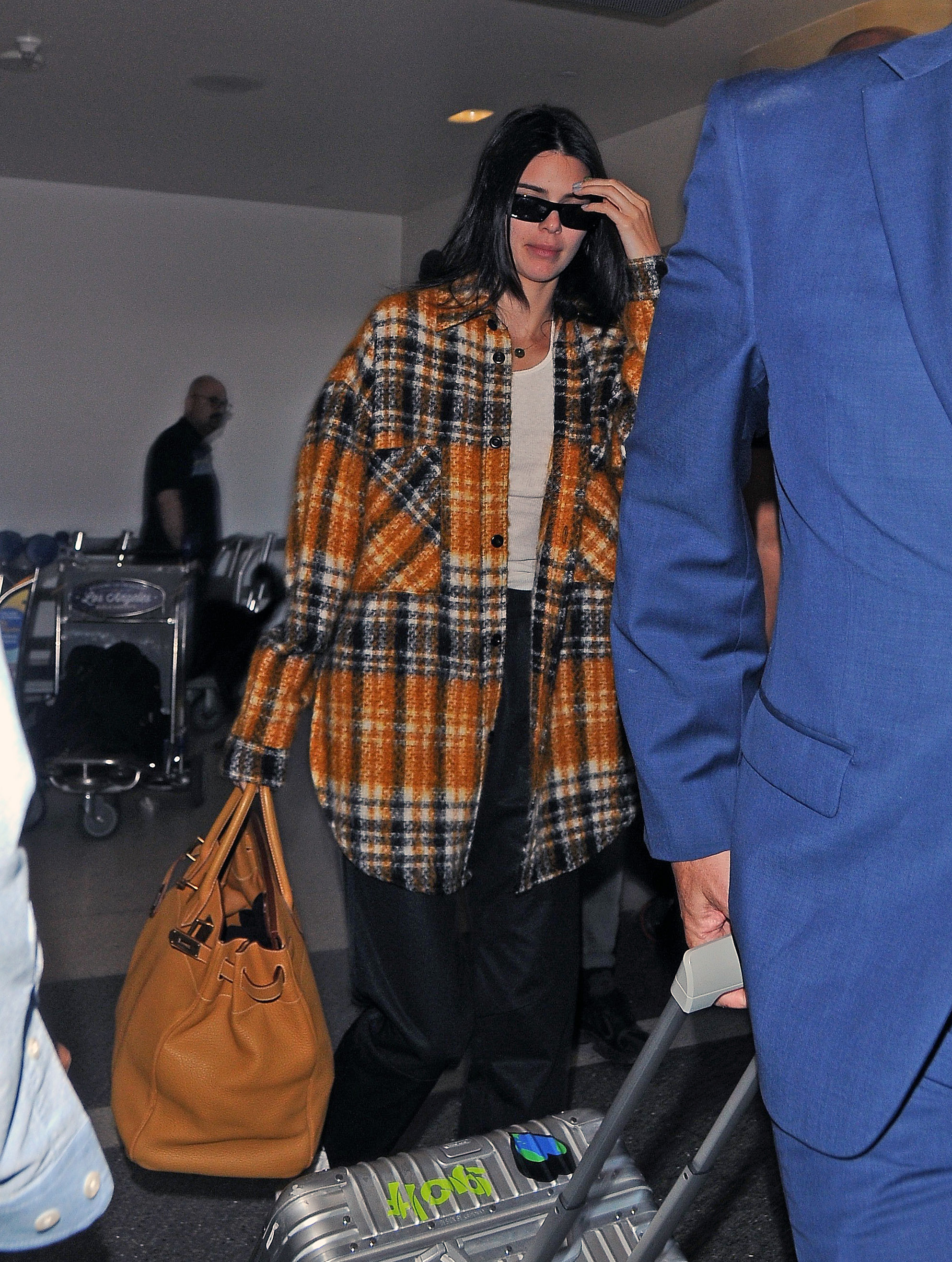 Kendall Jenner - Arrives at LAX Airport in Los Angeles