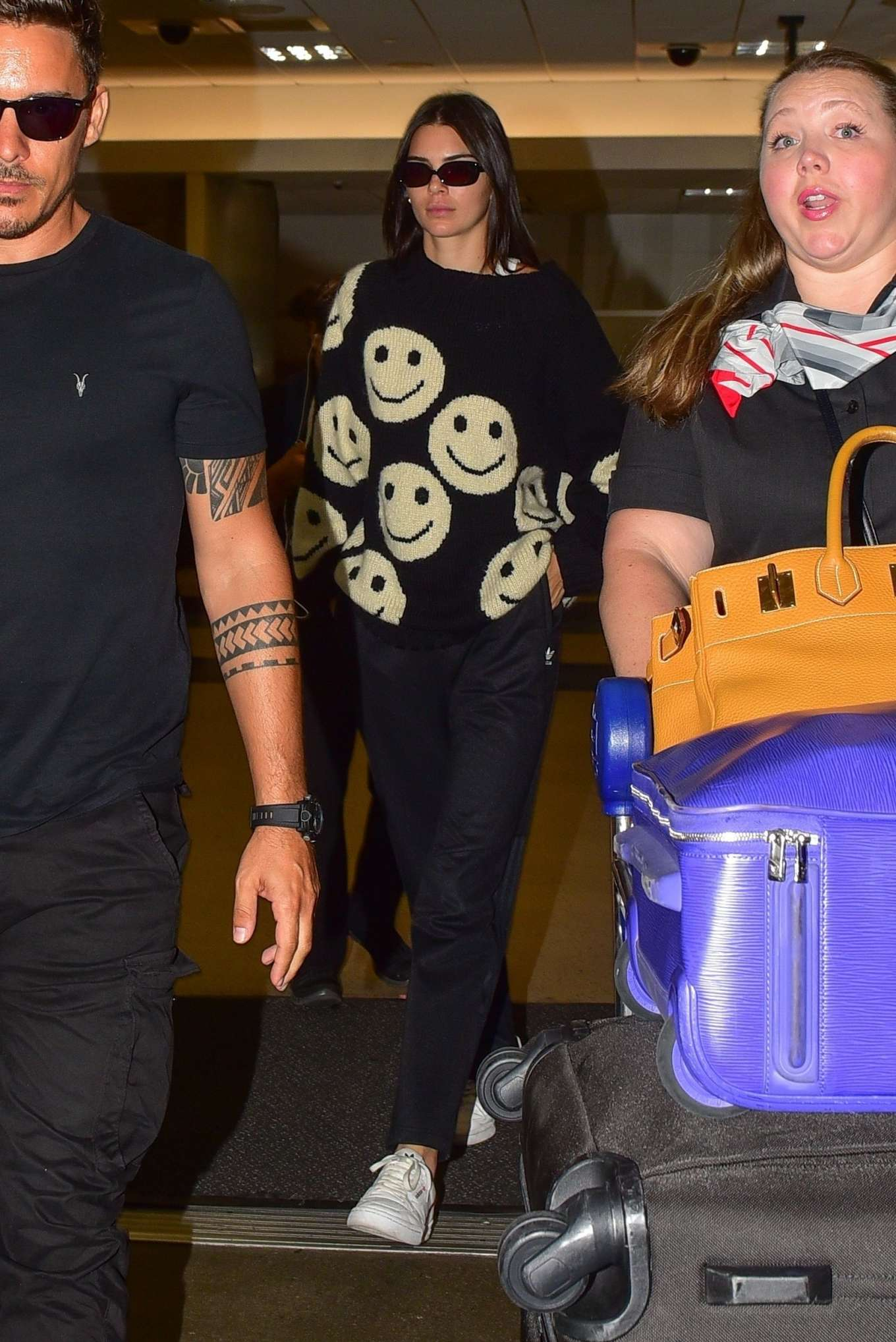 Kendall Jenner 2019 : Kendall Jenner – Arrives at LAX International Airport-09