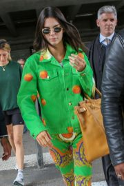 Kendall Jenner - Arrives at Nice Airport in France