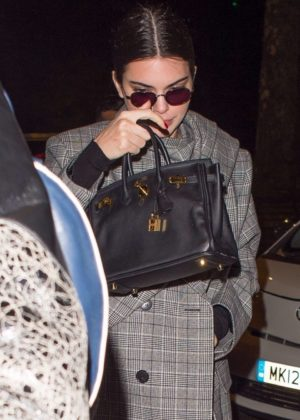 Kendall Jenner - Arriving at China Tang in London