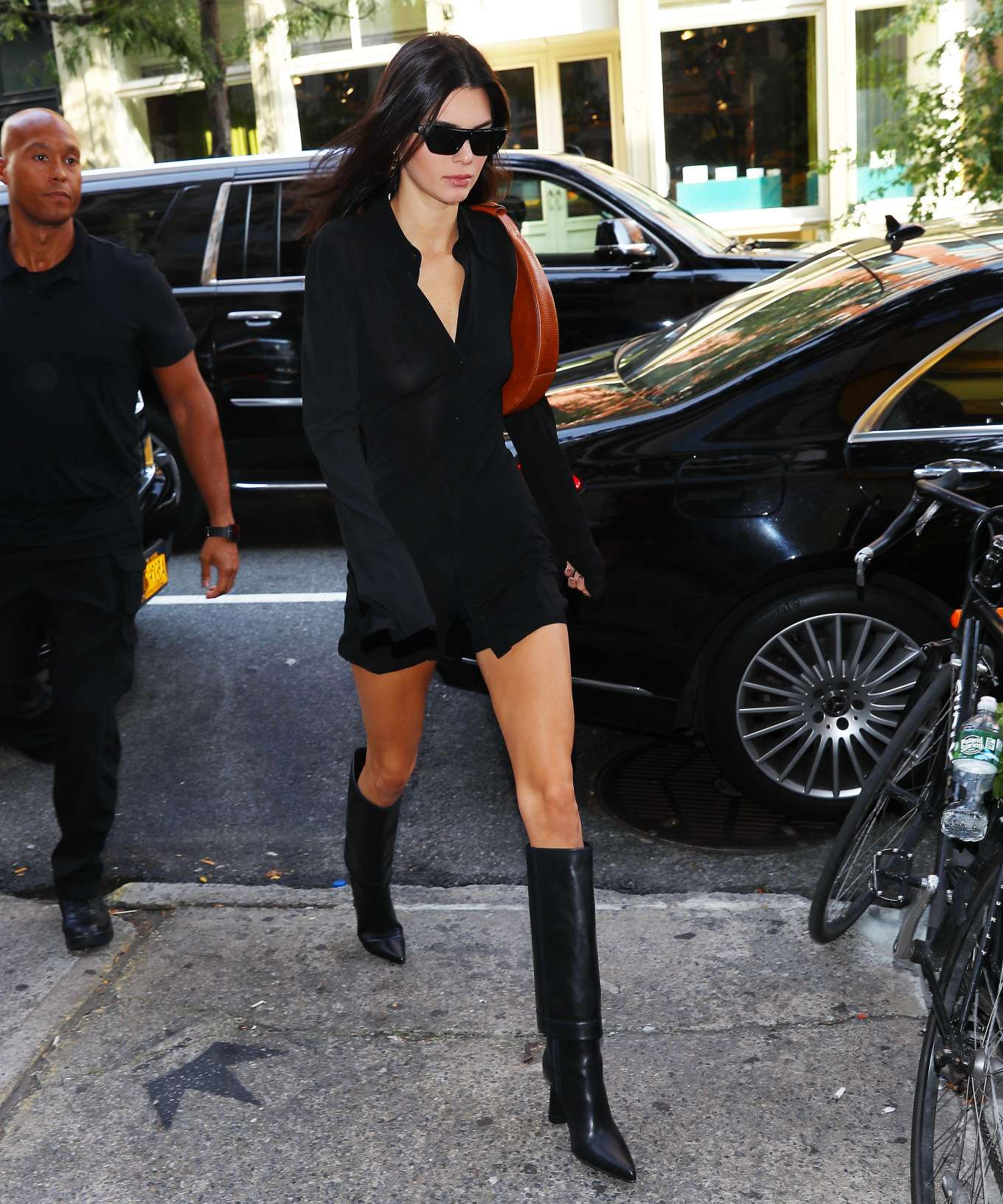 Kendall Jenner 2019 : Kendall Jenner – Arriving at Cipriani in NYC-02