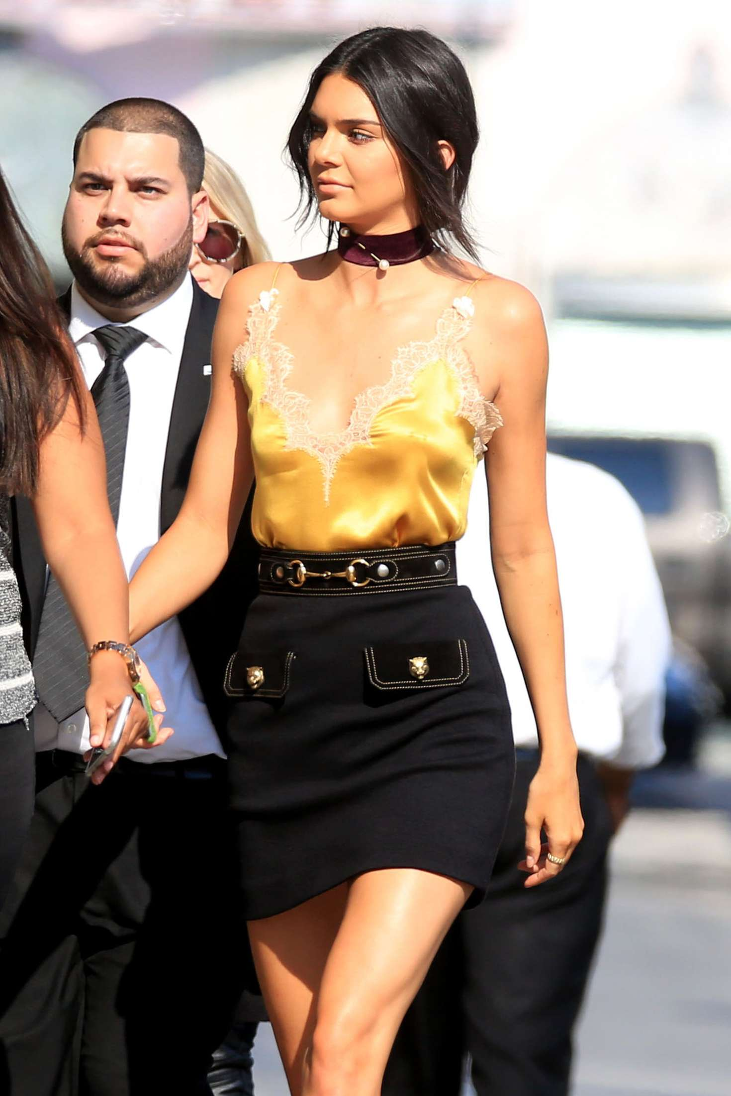 Kendall Jenner - Arriving at Jimmy Kimmel Live! in Los Angeles