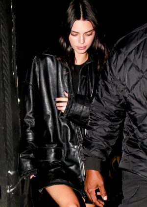 Kendall Jenner - Arriving at Milk Studios in Hollywood