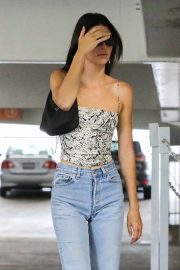 Kendall Jenner - Arriving for a business meeting in Beverly Hills