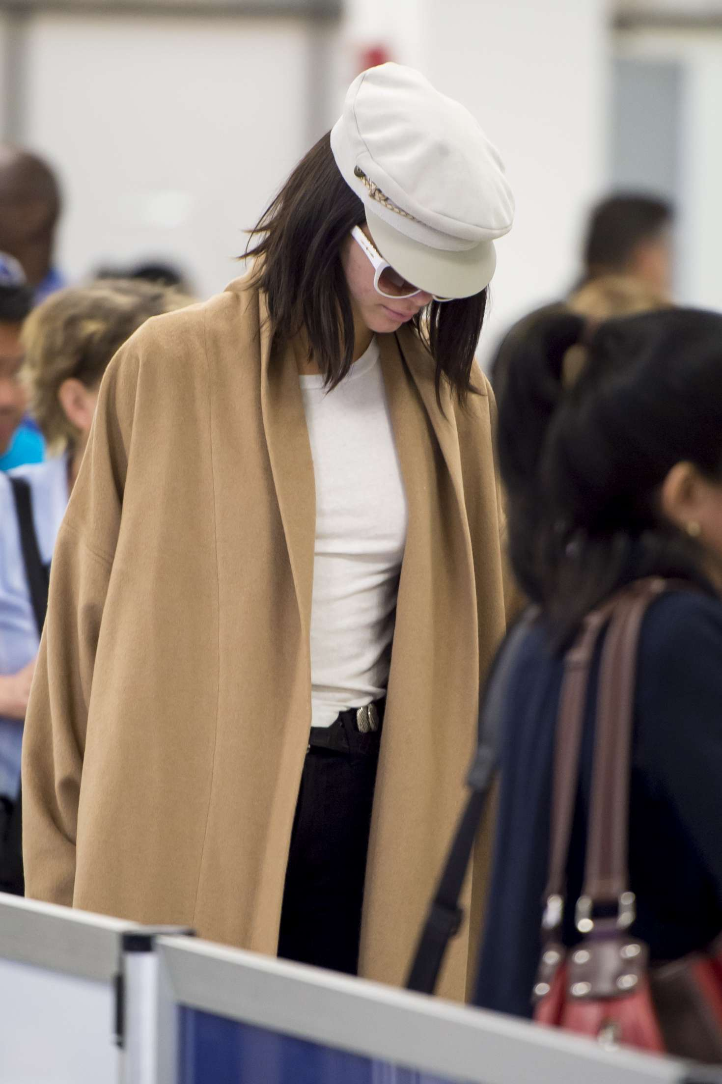 Kendall Jenner at Airport in Miami