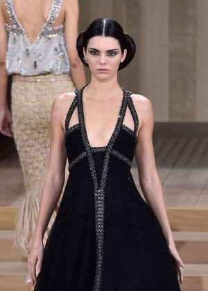 Kendall Jenner at Chanel Fashion Show 2016 Spring Summer in Paris
