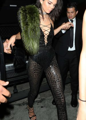 Kendall Jenner at her 21st Birthday at The Catch in LA