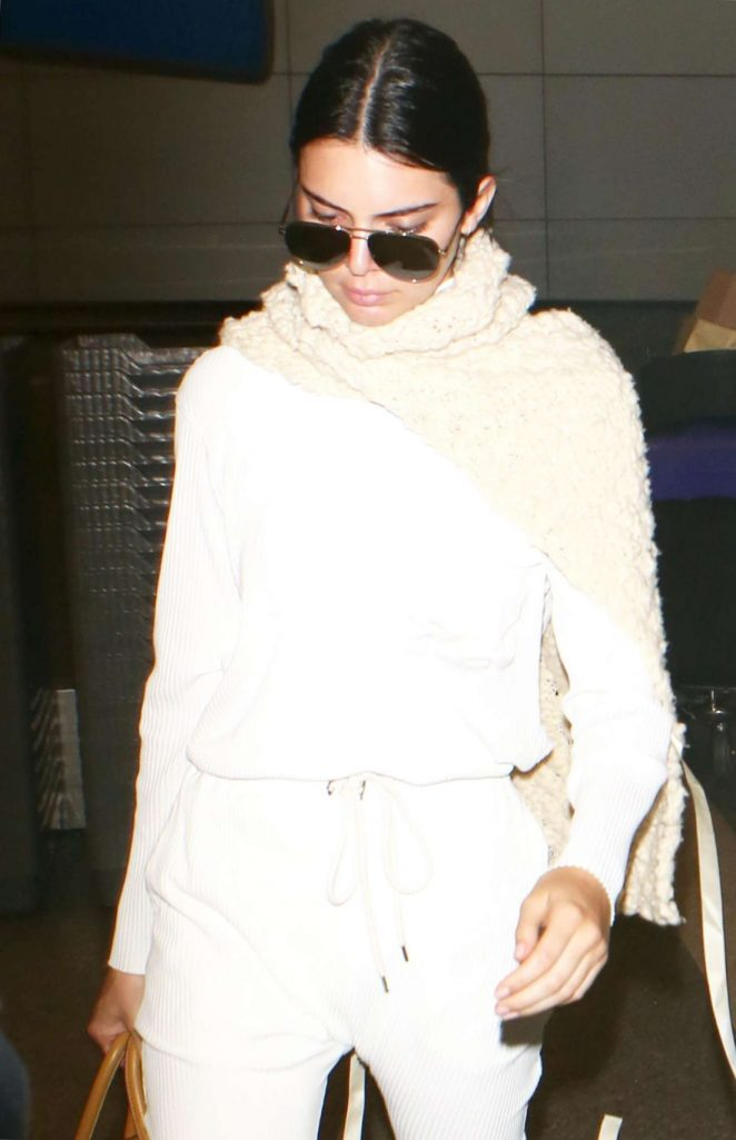 Kendall Jenner at LAX Airport in Los Angeles