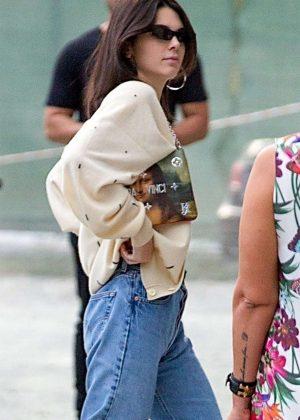 Kendall Jenner at Milan Fashion Week in Milan
