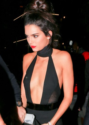 Kendall Jenner at Nice Guy in West Hollywood