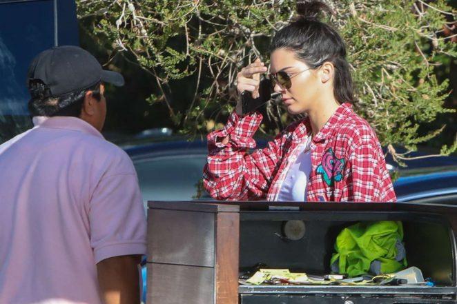Kendall Jenner at Soho House -04