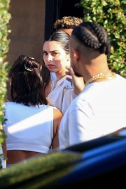 Kendall Jenner at the Bootsy Bellows Independence Day Party at Nobu in Malibu