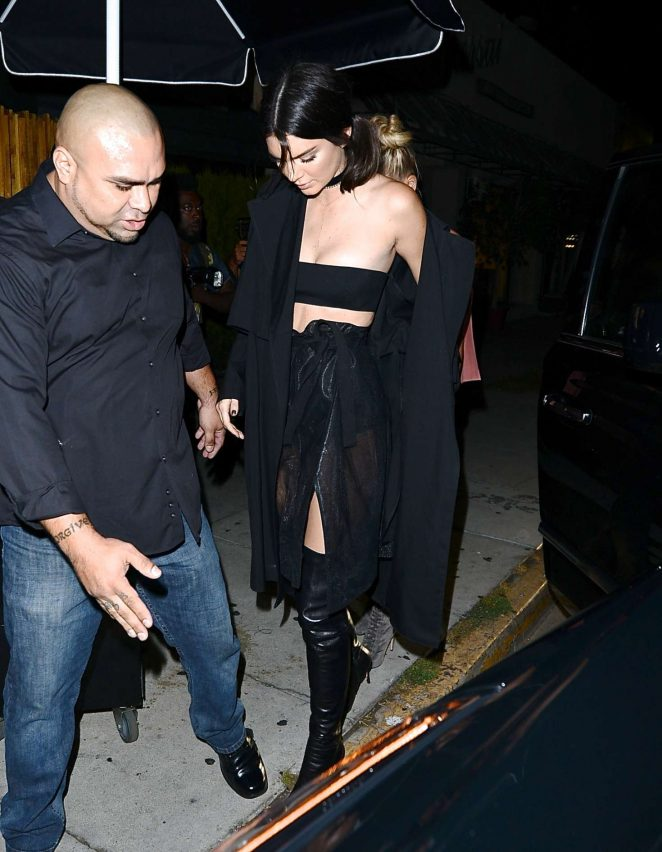 Kendall Jenner  at The Nice Guy -03