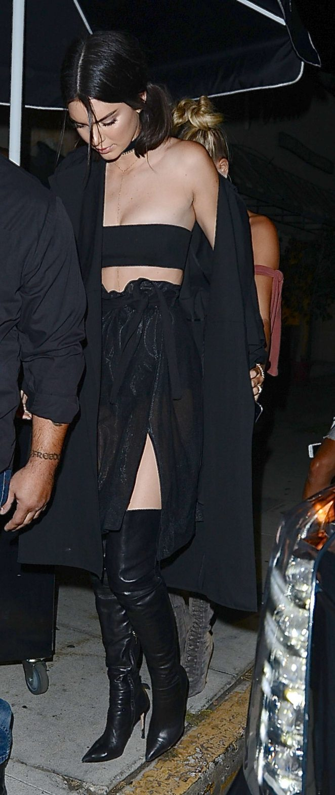 Kendall Jenner  at The Nice Guy -09