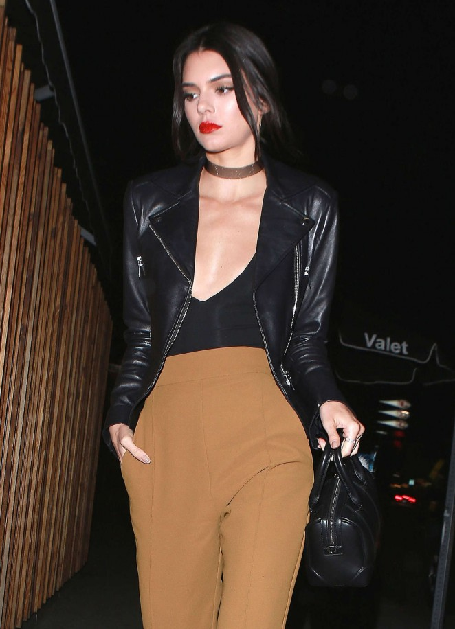 Kendall Jenner at the Nice Guy in West Hollywood
