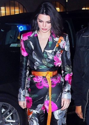 Kendall Jenner - Attends Jimmy Choo Off-White event in NYC