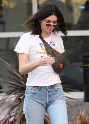 Kendall Jenner - Attends Mason Disick's 8th Birthday Party in LA