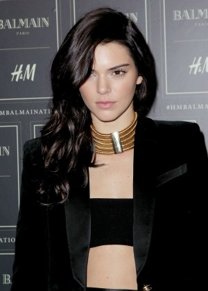 Kendall Jenner - Balmain x H&M Collection Launch in NYC