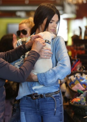 Kendall Jenner - Bark n' Bitches HUMANE Pet Shop in LA