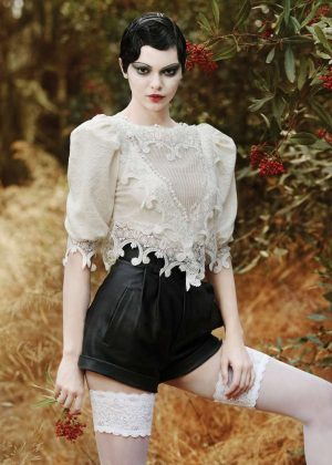 Kendall Jenner by Jeff Bark for V Magazine (January 2018)