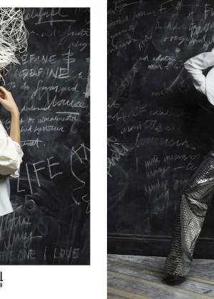 Kendall Jenner by Karl Lagerfeld for V Magazine 2016