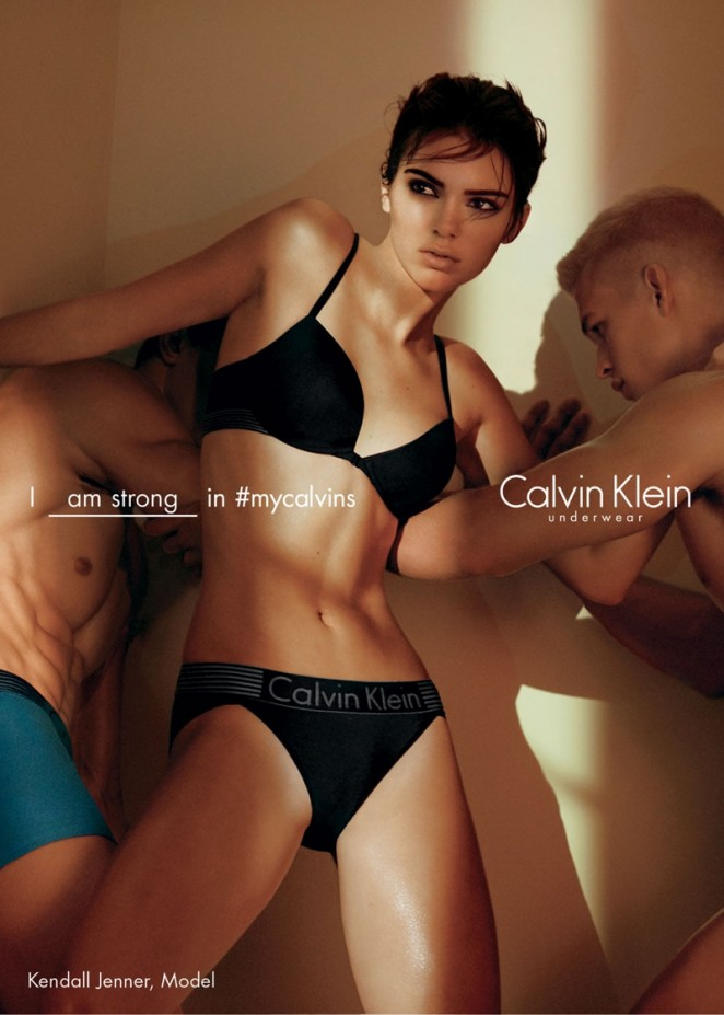 Kendall Jenner – Calvin Klein Campaign (Spring 2016)