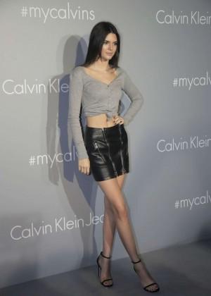 Kendall Jenner - Calvin Klein Event in Hong Kong