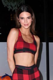 Kendall Jenner - Calvin Klein Pajama Party in NYC