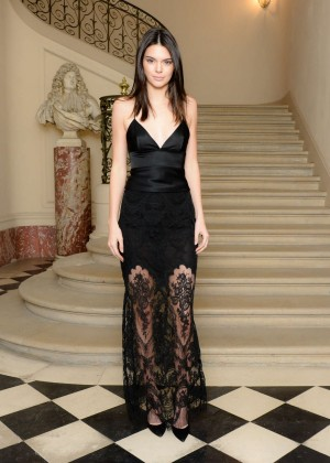 Kendall Jenner - CFDA/Vogue Fashion Fund Americans Cocktail Party in Paris