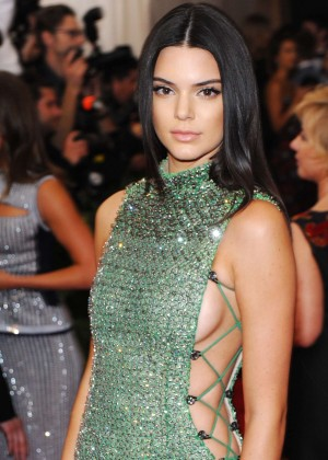 Kendall Jenner - 2015 Costume Institute Gala in NYC