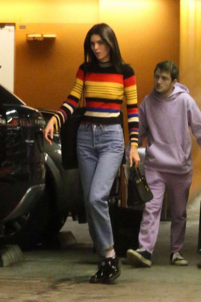 Kendall Jenner - Christmas Shopping in Beverly Hills