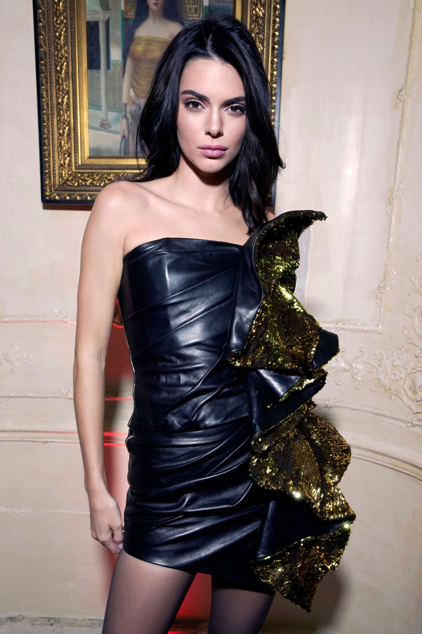 Kendall Jenner - Chrome Hearts Event in Paris