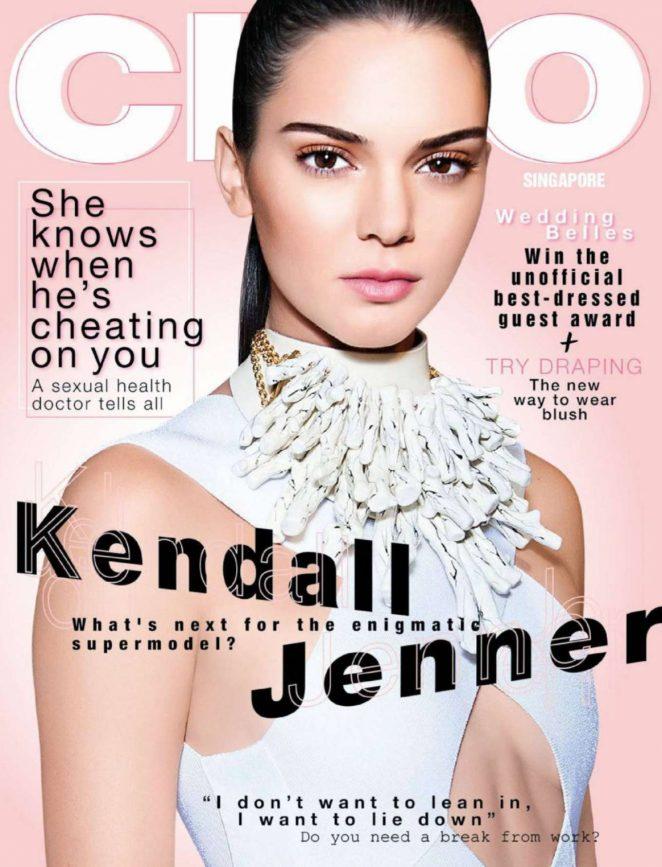 Kendall Jenner - CLEO Singapore Magazine (June 2018)