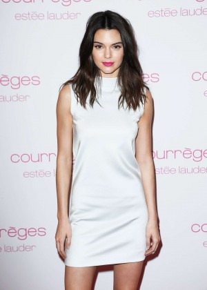 Kendall Jenner - Courreges and Estee Lauder Dinner Party in Paris