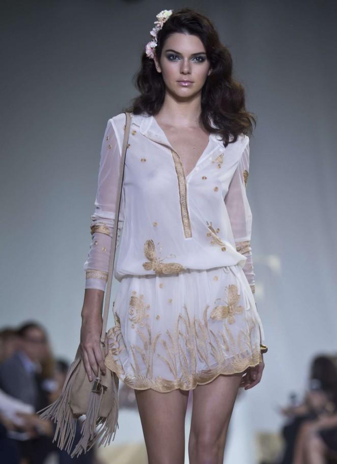 Kendall Jenner - Diane Von Furstenberg Fashion Show Spring 2016 NYFW in NYC