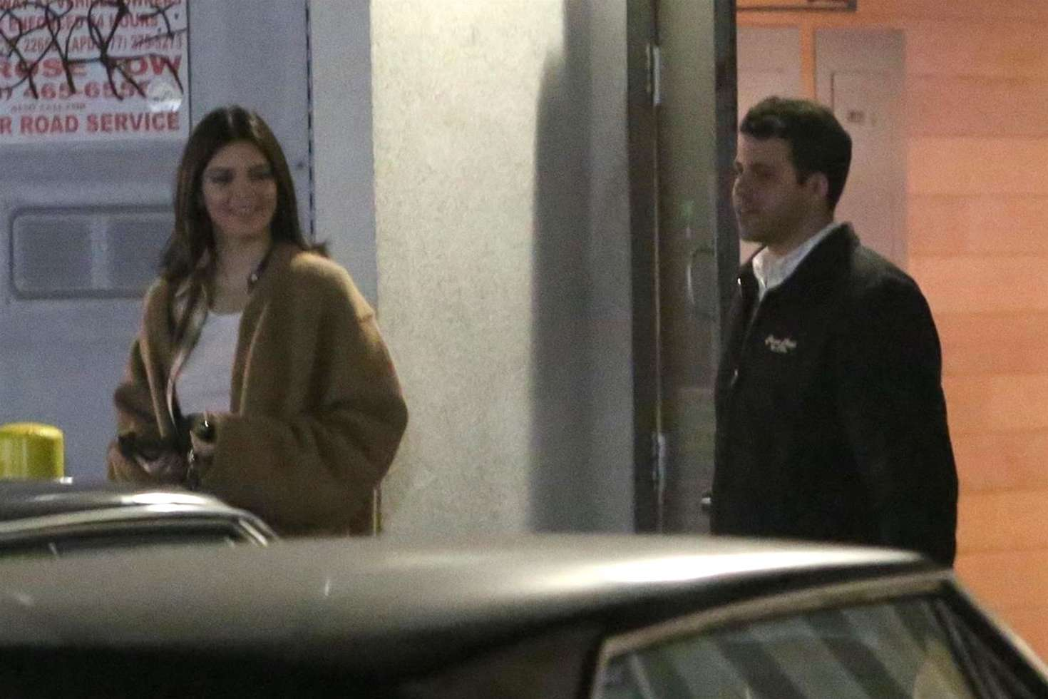 Kendall Jenner: Dines out with her friend DJ Daniel Chetrit