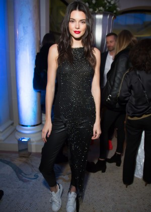 Kendall Jenner - Editorialist Spring/Summer 2016 Issue Launch Party in Paris