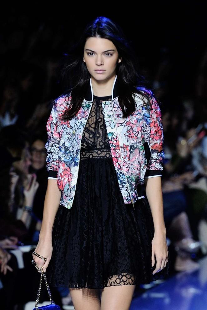 Kendall Jenner: Elie Saab Runway -10