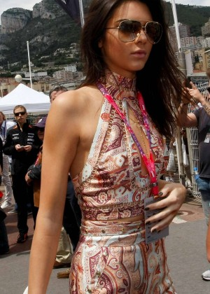 Kendall Jenner - F1 Grand Prix of Monaco in Monte Carlo