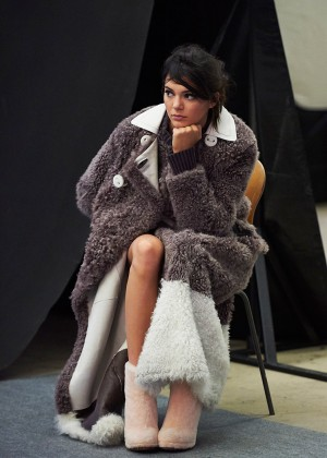 Kendall Jenner - Fendi Fall/Winter 2015 Ad Campaign